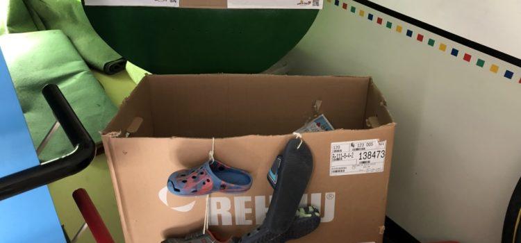 Alt-Schuh-Spenden
